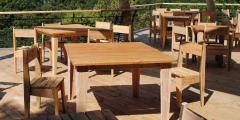 Table Sanchez, table jardin, atelier Chatersen