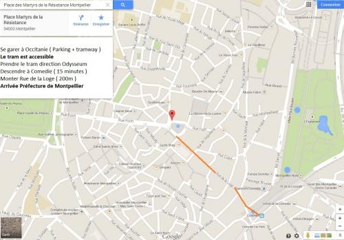 Image itinéraire Manif Montpellier, ouvrir dans une nouvelle fenêtrejpg