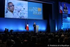 plan cancer 3, conférenc presse, François Hollande