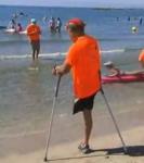 Capture écran francetvinfo  Palavas sports de glisse pour amputés.JPG