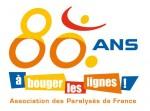 Logo APF 80 ANS