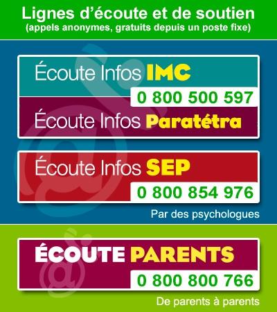 Images Numéros APF Ecoute infos