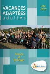 Couverture catalogue APF Evasion été 2015 pour adultes