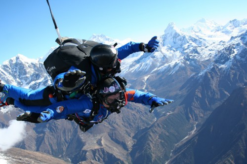 Saut parachute everest, SEP Everest, Everest skydrive