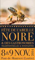 Affiche Fête de l'abeille noire, jpg