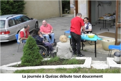 Quézac, APF, Lozère, Pique-nique