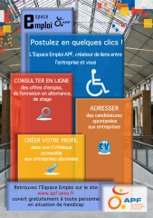 Espace Emploi tract PDF