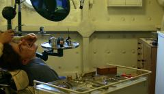 Photo retaillée d'un Cabinet de dentiste sur le HMS Belfast par Remi Kaupp, jpg