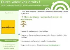 Capture écranSite Vos-droits.apf.asso.fr