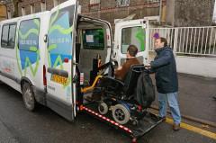 Transport personne handicapée, CG94