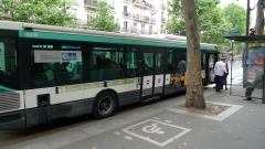 Photo Bus RATP accessible, J-L Zimmermann
