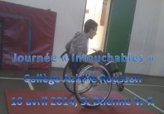 """Image de journée""""Intouchables"""", 2 roues en fauteuil-roulant, jpg"""