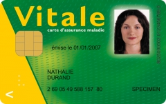 Photo carte vitale, CNAMTS - GIE SESAM-Vitale