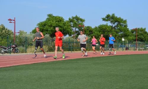 Marathon Montpellier, HASL, Handicap, amputé, coureurs