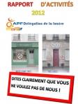 Rapport activité APF 48, RA 2012, DDAPF48