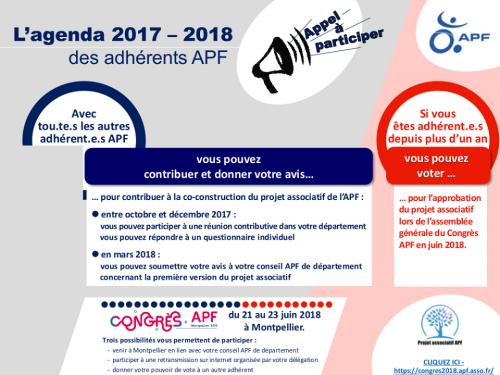 APD Appel à participer au nouveau projet associatif
