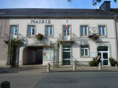 Photo de mairie en France, photo Lanzonnet, jpg