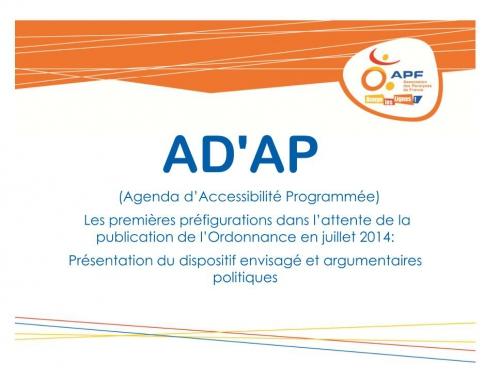 Couverture Adap Présentation et argumentaires politiques APF, jpg