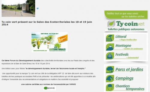 Capture écran site Ty coin vert, jpg