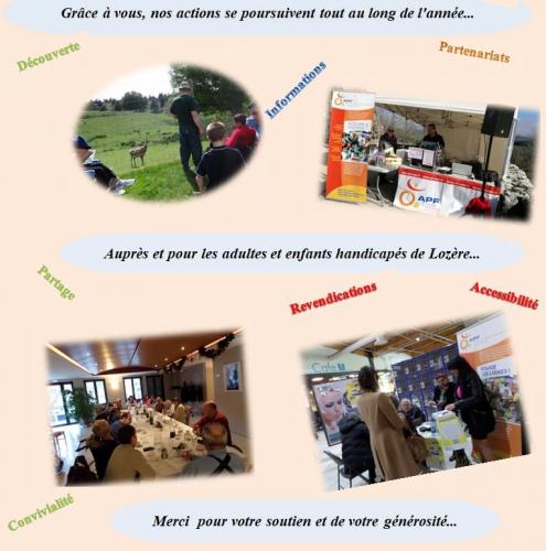 Handidon, APF Lozère, Nos actions, Accessibilité, Convivialité