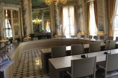Photo Salle du Tribunal des conflits au  Conseil d'Etat,jpg
