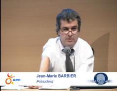 Jean-Marie Barbier, décès, APF, président
