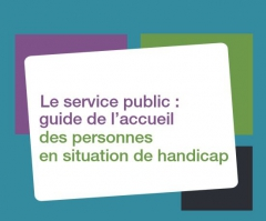 Couverture Guide Service public :  accueil personnes handicapées, jpg