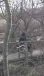 Descente rampe bois pour fauteuil roulant, jpg