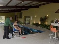 Mise à l'eau, piscine accessible, espagne