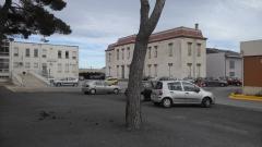 Photo de l'hopital de Perpignan, emplacement prévu pour le CBV