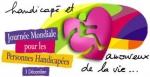 Logo Journée internationale des personnes handicapées