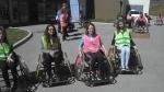 Photo Différent comme tout le monde 2015, parcours fauteuil