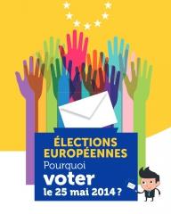 Image de l'affiche Pourquoi voter aux élections européennes du 25 mai, jpg