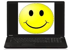 Smiley Toshiba Satellite