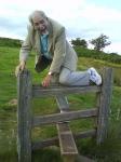 Photo d'homme agé de 90 ans sur une barrière, Sparrowcottage