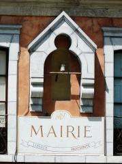 mairie Marignac, 31, Liberté, égalité, fraternité
