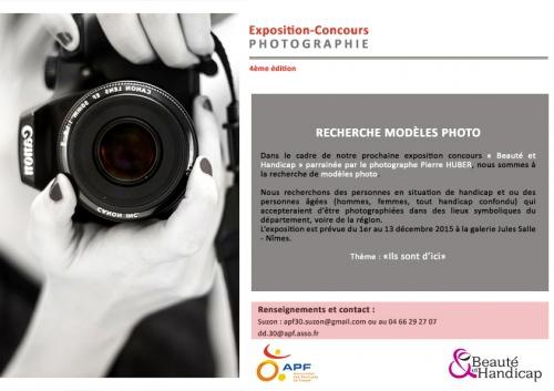 APF 30, recherche modèles pour photos, beauté & handicap