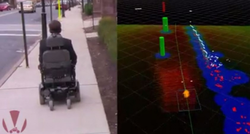 Capture écran Youtube : the smart wheelchair project, jpg