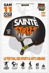 Affiche SAINTéSTREET Festival, jpg