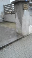 Photo entrée cour cabinet médical Florac, jpg