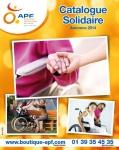 Capture écran Catalogue APF Solidaire automne 2014