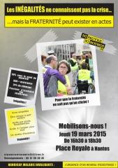 Affiche Ni Pauvre Ni Soumis, Nantes 19 mars, jpg