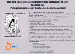 "Affiche Selfies ""Inaccessibles"" APF 59, jpg"