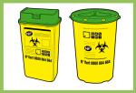 Image de boites à déchets à risque, DASRI, jpg