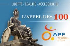 Image de la statue de la Liberté sur un fauteuil roulant, appel à manifester à Paris le 13 mai, jpg