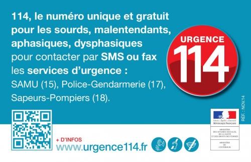 114, numéro urgence par sms ou fax, jpg