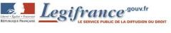 Visuel site Legifrance, jpg