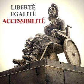 Affiche Marianne en fauteuil roulant, jpg