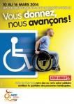 Semaine handicap, vous donnez-nous avançons