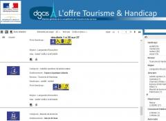 Tourisme et Handicap, site internet